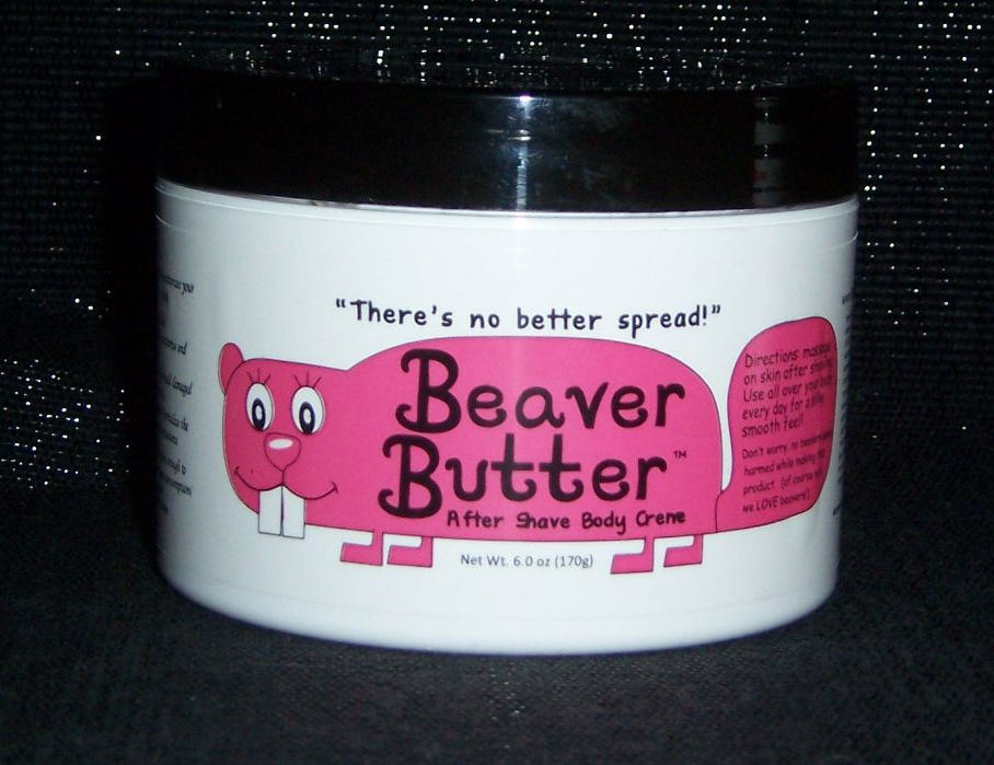 Jar of Beaver Butter